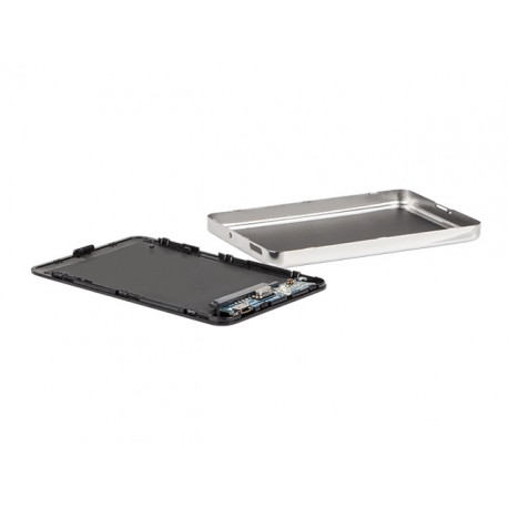 "OBUDOWA HDD/SSD ZEWNĘTRZNA NATEC OYSTER 2 SATA 2.5"" USB 2.0 ALUMINIUM CZARNA SLIM SCREWLESS"