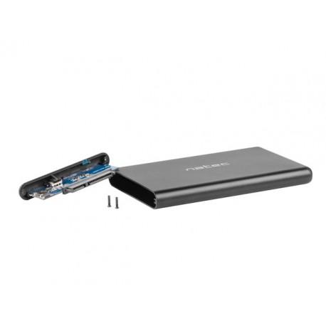 """OBUDOWA HDD/SSD ZEWNĘTRZNA NATEC RHINO-C SATA 2.5"""" USB TYPE-C"""
