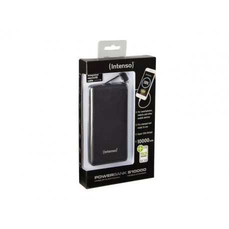 POWER BANK INTENSO S10000 10000MAH CZARNY