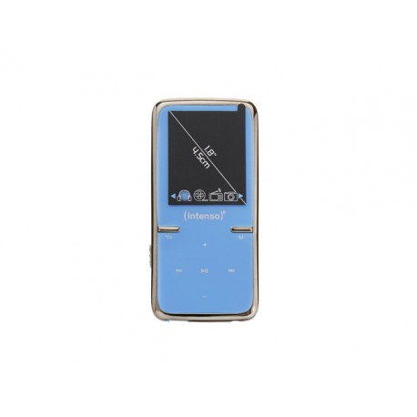 "ODTWARZACZ MP4 INTENSO 8GB VIDEO SCOOTER LCD 1.8"" NIEBIESKI"