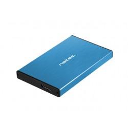 """OBUDOWA HDD/SSD ZEWNĘTRZNA NATEC RHINO GO SATA 2.5"""" USB 3.0 NIEBIESKA"""