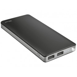 POWER BANK TRUST PRIMO THIN 10000MAH CZARNY LATARKA