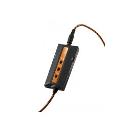 SŁUCHAWKI NAUSZNE THRUSTMASTER Y-350CPX 7.1 Z MIKROFONEM CZARNO-POMARAŃCZOWE