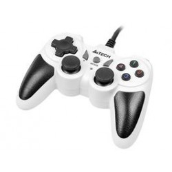 Gamepad A4TECH X7-T4 Snow PC/PS2/PS3