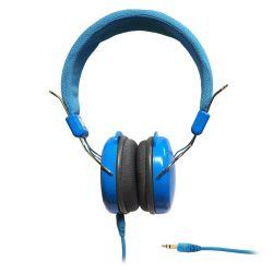 SŁUCHAWKI STEREO z mikrofonem ART AP-60MB niebieskie