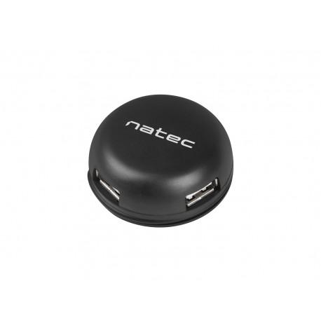 HUB USB 2.0 NATEC BUMBLEBEE 4-PORTY CZARNY