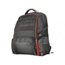 PLECAK DO LAPTOPA TRUST GXT 1250 HUNTER BLACK-RED 17.3""