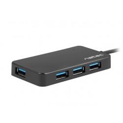 HUB USB 3.0 NATEC MOTH 4-PORTY CZARNY