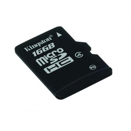 Karta pamięci KINGSTON Micro SDHC 16GB bez adaptera, class 4 (SDC4/16GBSP)