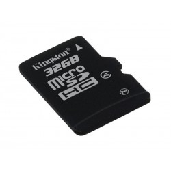 Karta pamięci KINGSTON Micro SDHC 32GB bez adaptera, class 4 (SDC4/32GBSP)