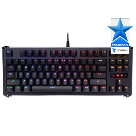 Klawiatura mechaniczna A4TECH BLOODY B930 RGB (LK LIBRA BROWN SWITCH)