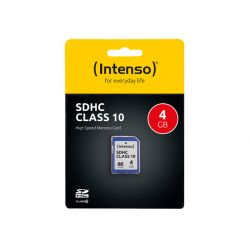 KARTA PAMIĘCI INTENSO SD 4GB SDHC CARD CLASS 10