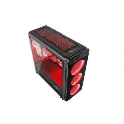 OBUDOWA GENESIS IRID 300 RED MIDI TOWER (Z OKNEM, REG. OBR., USB 3.0, BEZ PSU)