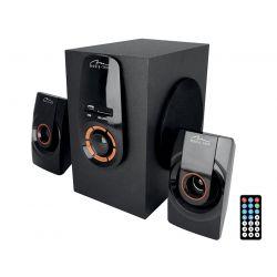 ZORKON 2.1 BT - Zestaw głośników 2.1 Bluetooth, FM, MP3, pilot