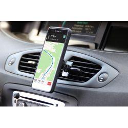 MAGNET CAR HOLDER V2.0 - Uchwyt magnetyczny do urządzeń mobilnych. Rewolucyjny montaż w kratce nawiewu powietrza kabinowego