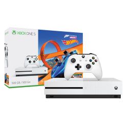 ZESTAW Z KONSOLĄ XBOX ONE S (500 GB) I GRĄ FORZA HORIZON 3 HOT WHEELS