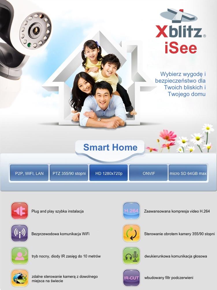 Kamera ISee Xblitz WiFi IP