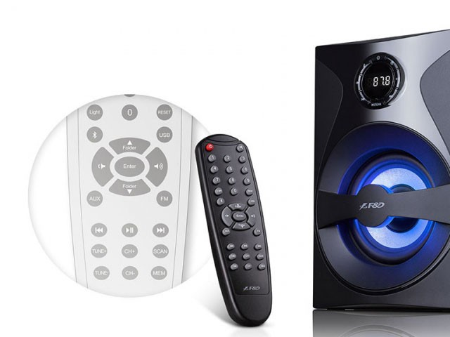 Głośniki 2.1 Fenda F380X Bluetooth NFC